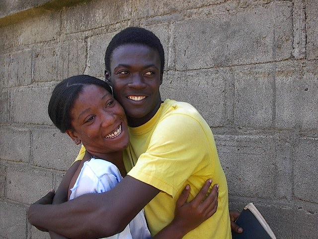 smiling couple bigger